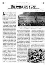 Histoire du Surf - Tahiti Pacifique