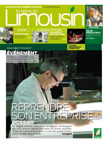 La Lettre du Limousin 96 - Région Limousin