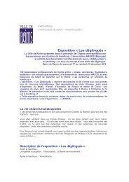 Exposition « Les déglingués - Ville de Reims