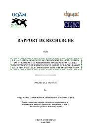 Développement - Prévention de la violence et philosophie pour ...