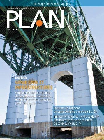 PLAN_décembre_2011 - Ordre des ingénieurs du Québec