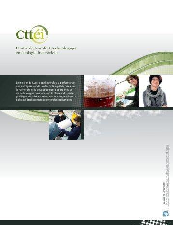 Une région innovante en développement durable - Technopole en ...