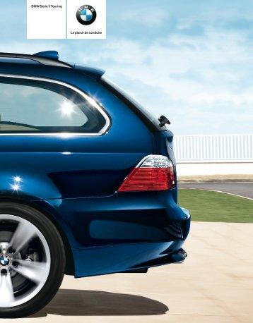 Le plaisir de conduire BMW Série 5 Touring - Autolille