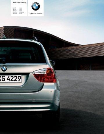 Téléchargement Catalogue de la BMW Série 3 Touring (PDF 3,56 MB)