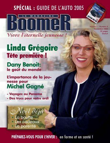 Volume 1 - Numéro 4 - Le Magazine BOOMER de SLC marketing