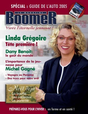 Volume 1 - Numéro 4 - Le Magazine BOOMER de SLC marketing