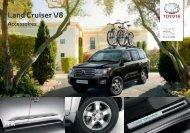 Brochure accessoires Land Cruiser V8