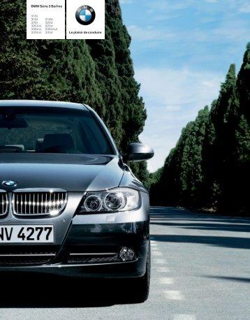 Téléchargement Catalogue de la BMW Série 3 Berline (PDF 3,95 MB)