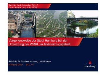 Vorgehensweise der Stadt Hamburg - Meier - BUND Hamburg