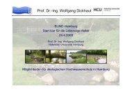 Vortrag ökologischer Hochwasserschutz - Dickhaut - BUND Hamburg