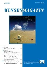 BuMa_2009_04 - Deutsche Bunsengesellschaft für Physikalische ...