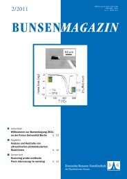 BuMa_2011_02 - Deutsche Bunsengesellschaft für Physikalische ...