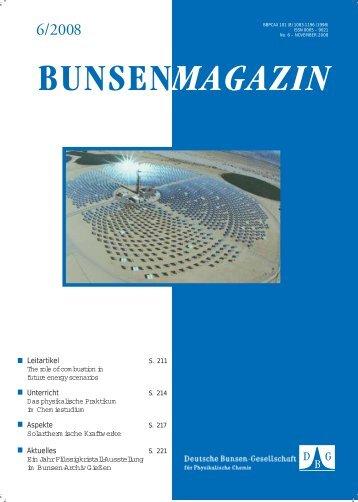 BuMa_2008_06 - Deutsche Bunsengesellschaft für Physikalische ...