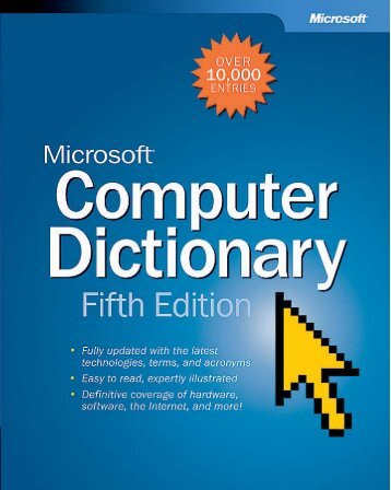 Microsoft Computer Dictionary, Fifth Edition eBook - ASSA ABLOY ...