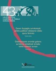 Genero ikuspegiko aurrekontuak - Biblioteca Hegoa - Universidad ...