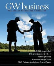 GW business - School of Business - The George Washington ...