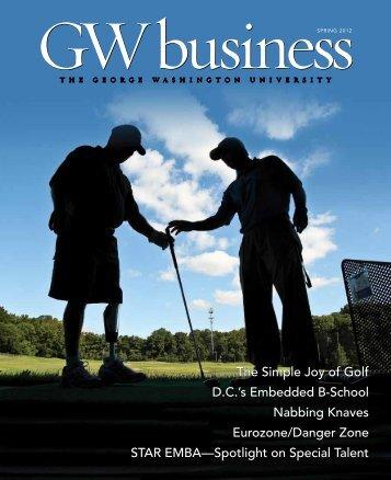 GW business - School of Business - The George Washington ...
