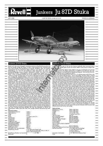 Junkers Ju 87D Stuka - CMC-Versand