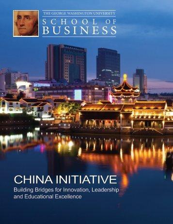 China Initiative - School of Business - The George Washington ...