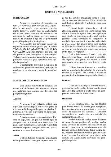CAPÍTULO 4 PINTURA E ACABAMENTO ... - portal piloto brasil