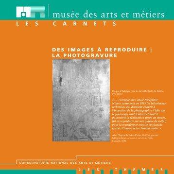 MAQUETTE CNAM- LA PHOTOGRAVURE - Musée des arts et métiers