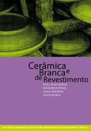 Cerâmica branca e de revestimento - Cetesb - Governo do Estado ...