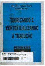 Teorizando e Contextualizando a Tradução - Fale - UFMG