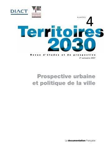 Revue Territoires 2030 n°4 - Datar