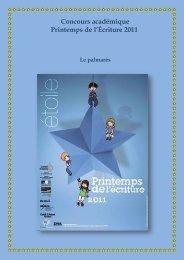 Printemps de l'écriture 2011 - Collège Lezay Marnésia