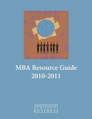 MBA Resource Guide - The George Washington University