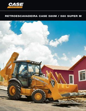 RETROESCAVADEIRA CASE 580M / 580 SUPER M - TransTorino