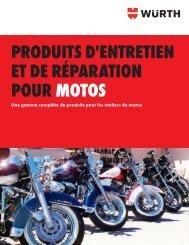produits d'entretien et de réparation pour motos - Wurth Canada