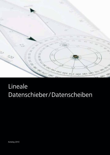 Lineale Datenschieber/Datenscheiben