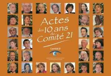 A télécharger - Comité 21