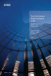 The 21st century public company audit - College of Business at ...