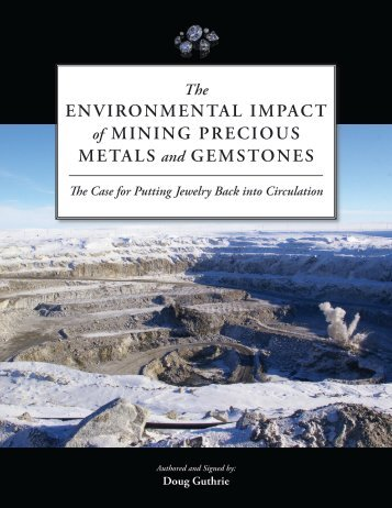 Environmental Impact of Mining Precious Metals - The George ...