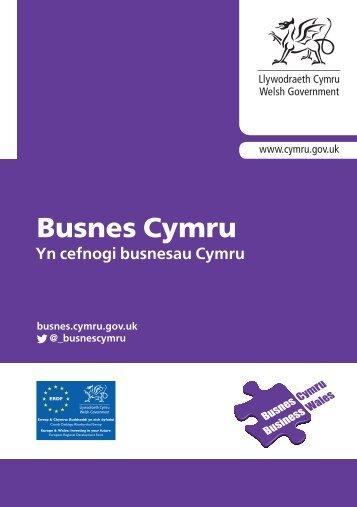 Busnes Cymru - Business Wales