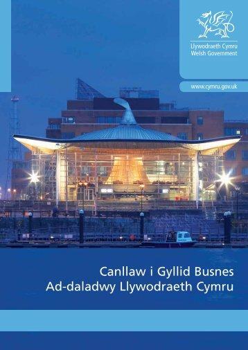 Cyllid Busnes Ad-daladwy - Business Wales