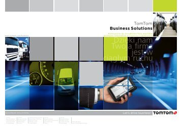 Broszura WORKsmart - TomTom Business Solutions