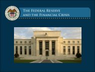 Lecture 1 Slides: Origins and Mission of the Federal Reserve ...