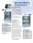 Barnant Mixers - Clarkson Laboratory and Supply - Page 3