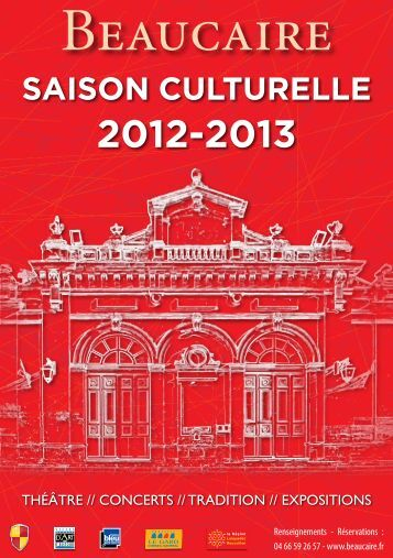saison culturelle 2012-2013 - Beaucaire
