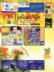 octobre - Ballad'Ain