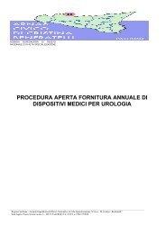 Capitolato - Ospedale Civico di Palermo