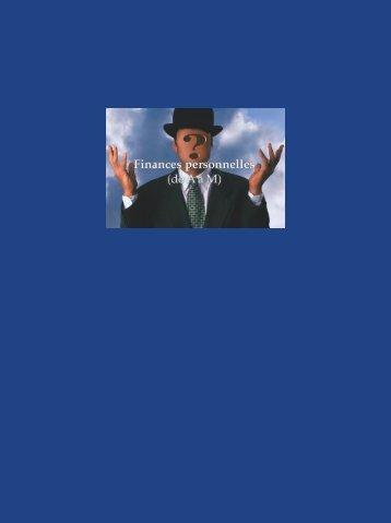 Brochure Finances personnelles (de A à M) - Les Fonds FMOQ