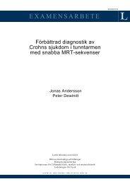 Förbättrad diagnostik av Crohns sjukdom i tunntarmen med snabba ...