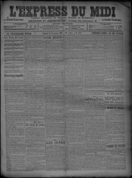 30 Novembre 1907 - Bibliothèque de Toulouse