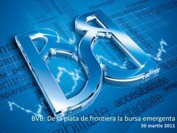 "Wall Street.ro - ""Maturizarea pietei de capital"" - Bursa de valori ..."