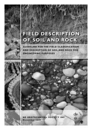 FIELD DESCRIPTION OF SOIL AND ROCK - NZGS