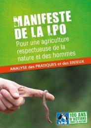 Manifeste pour une agriculture respectueuse de la nature - LPO